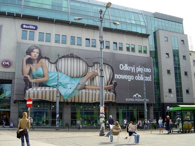 Centrum Handlowo-Biurowe Kupiec Poznański – nowy nośnik w naszej ofercie OOH