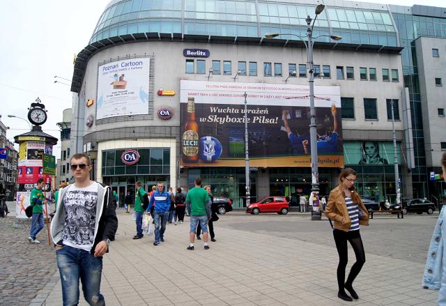 Centrum Kupiec Poznański - wielkoformatowy Outdoor - reklama OOH