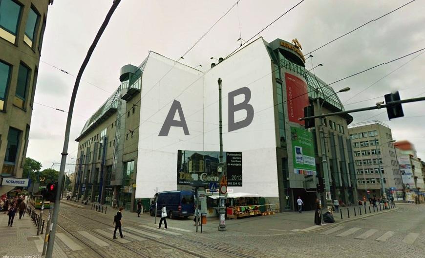 Mural OOH - Centrum Kupiec Poznański - wielkoformatowy Outdoor
