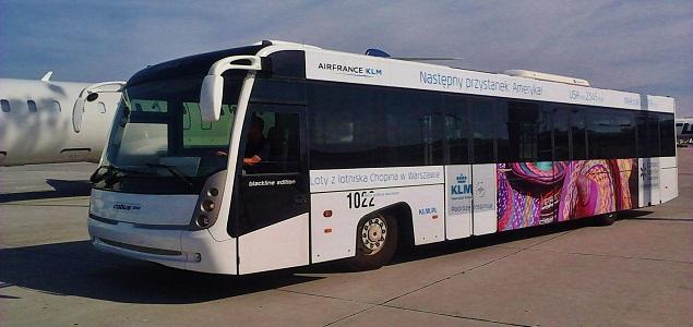 agencja reklamowa- reklama outdoor Warszawa - autobus jako nośnik kampanii OOH